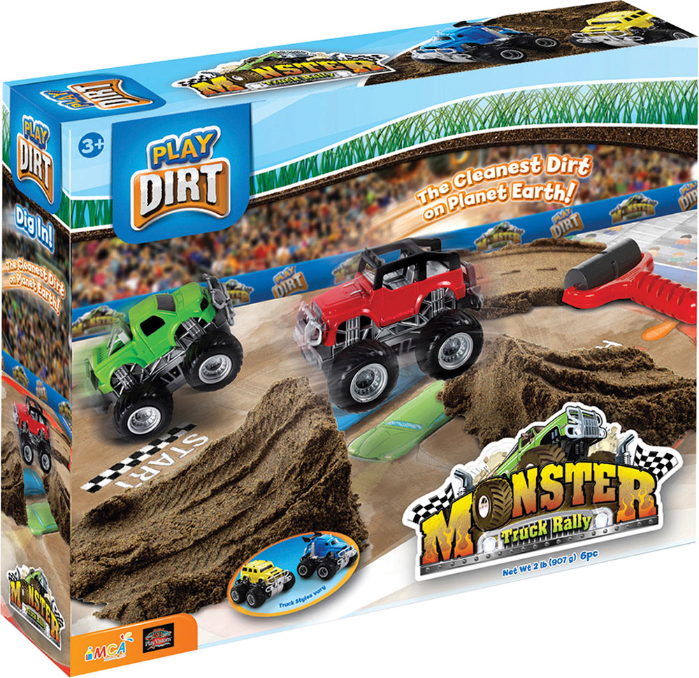 Play Dirt Monster Truck Rally