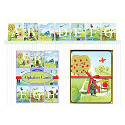 All Around the Land Alphabet Wall Cards