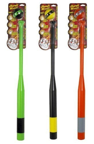 Neon Junk Ball & Bat Set