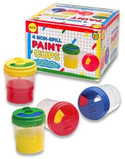 Paint Cups, Non-Spill (4)