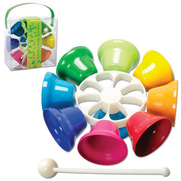 Rainbow Music Spin Bells