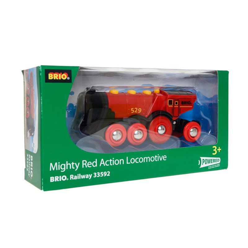Mighty Red Locomotive