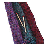 Quick to Knit Scarf Kit: Pink/Green