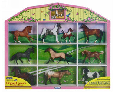 Stablemates Horse Lover's Collection Shadow Box