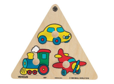 Puzzibilities Vehicles Triangle Puzzle
