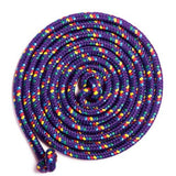 Purple 8' Jump Rope - Confetti