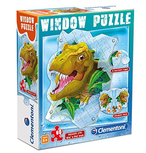 Window Puzzle - T-Rex 60pc Puzzle