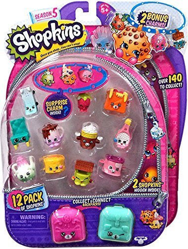 12 pack Shopkins Series 5