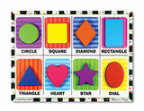 Shapes Chunky 8pc Wooden Puzzle