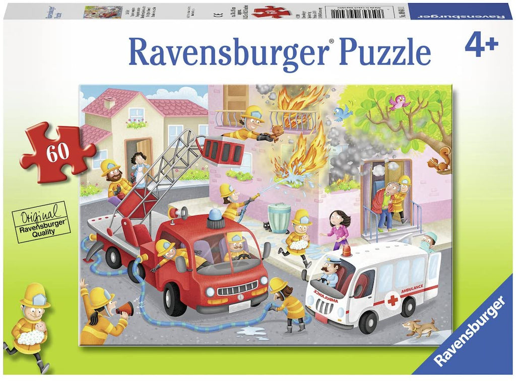 Firefighter Rescue 60pc Puzzle
