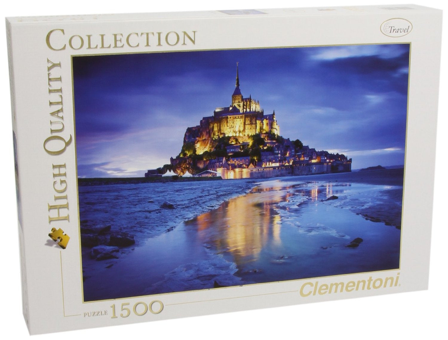 Le Mont Saint-Michael - 1500pc.
