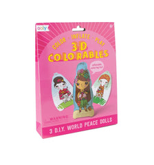 3D Colorables World Peace Dolls