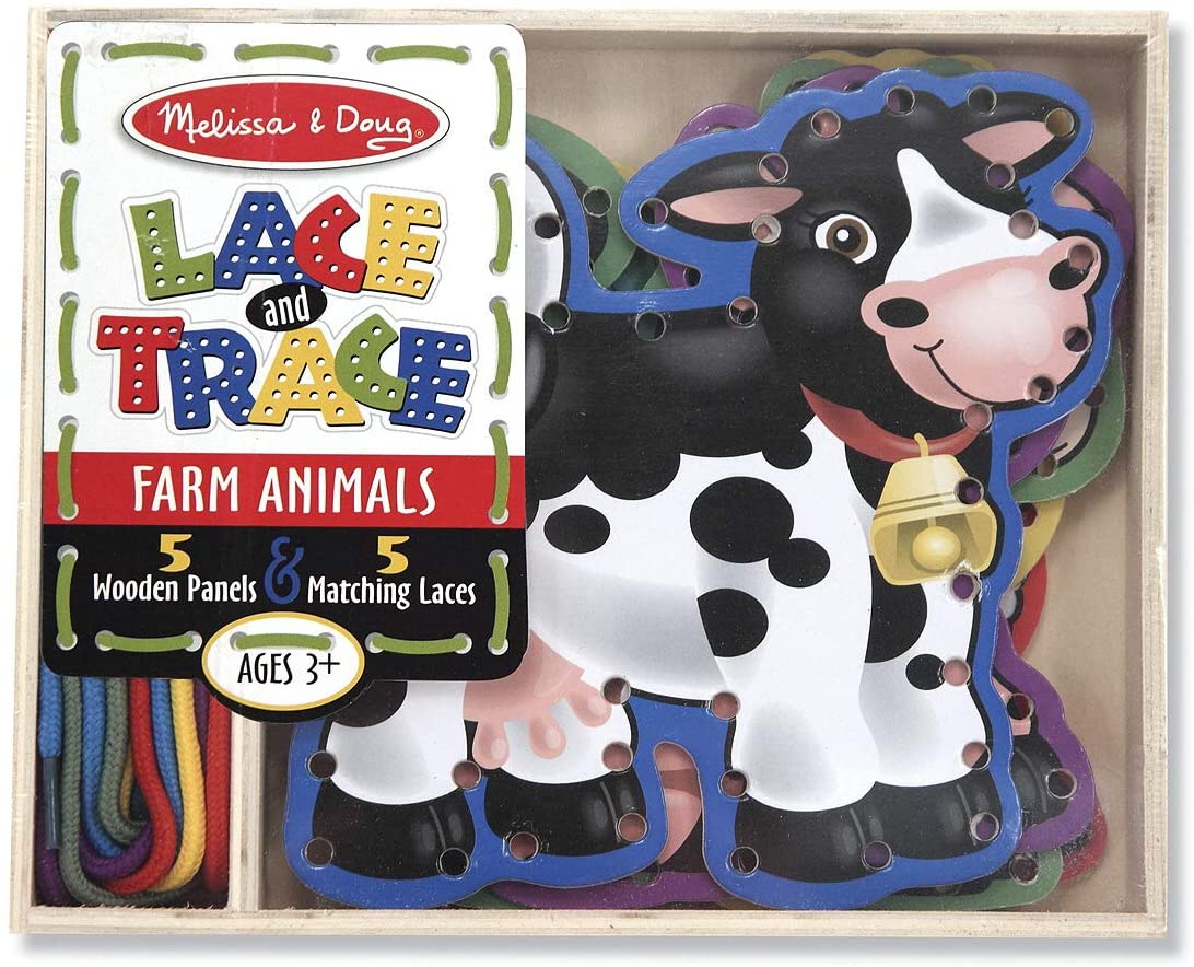 Farm Lace & Trace Game