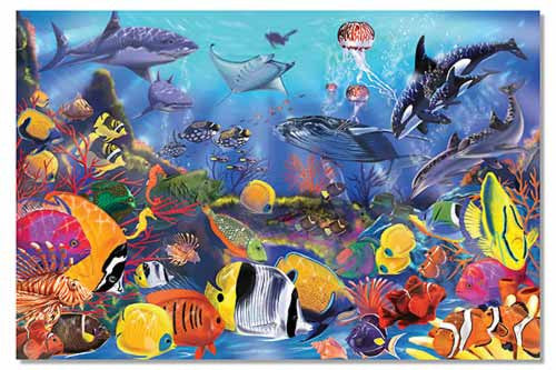 Underwater Floor Puzzle - 48 pc.