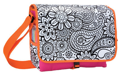 Color a Flower Bag