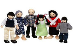 Doll House Family - Asian