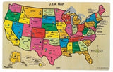 Puzzibilities USA Map Puzzle