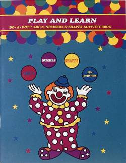 Do-a-Dot Art Activity Book Play and Learn
