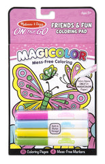COLORING PAD - FRIENDSHIP & FUN