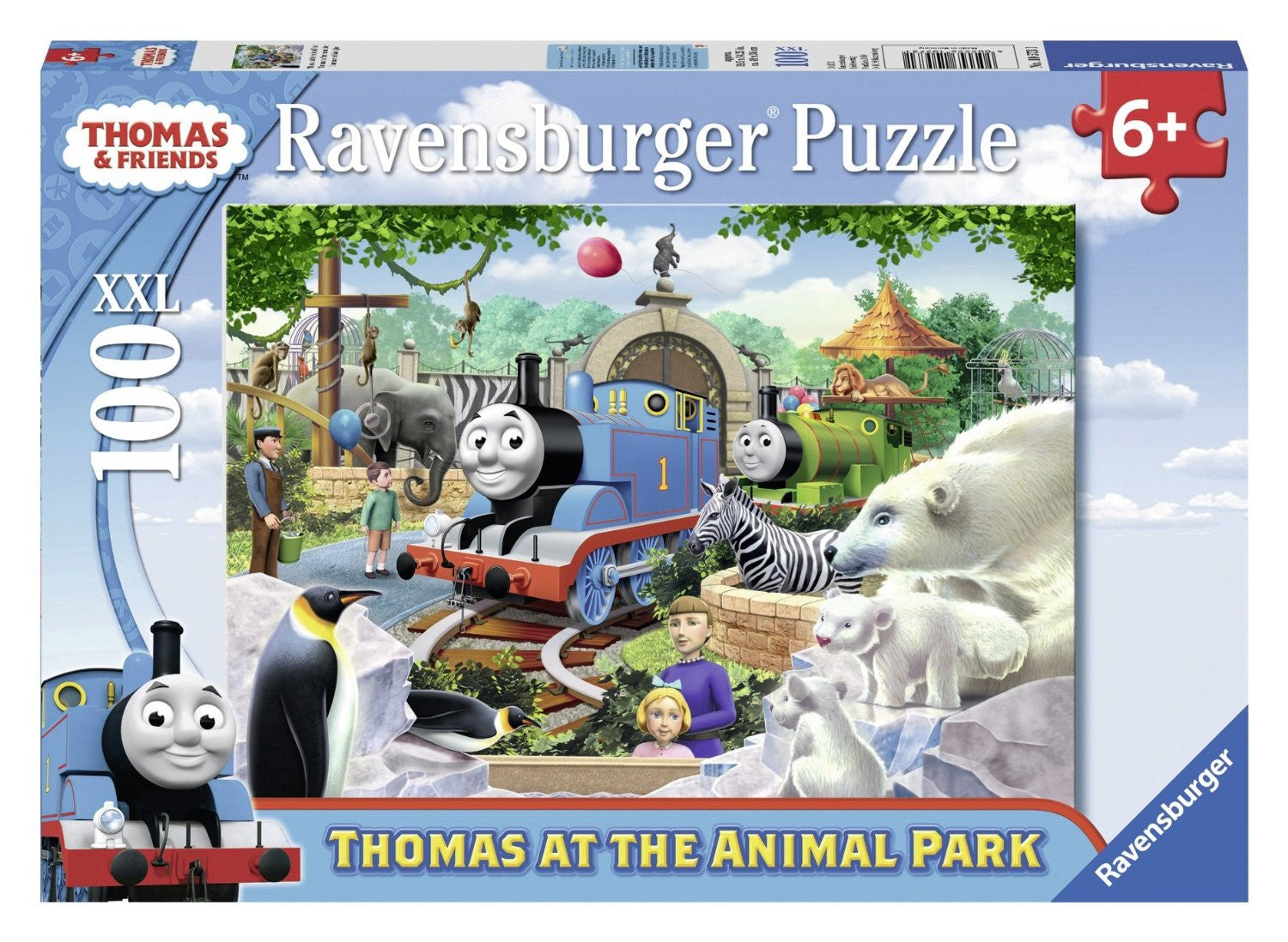 Thomas at the Animal Park 100 pc. XXL puzzle