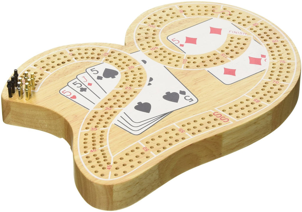 "3 TRK ""29"" CRIBBAGE W/CARDS"