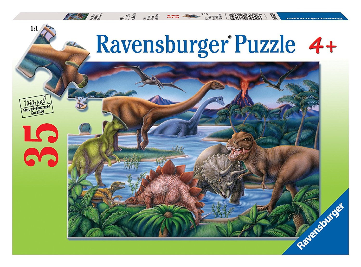 Dinosaur Playground 35pc Puzzle