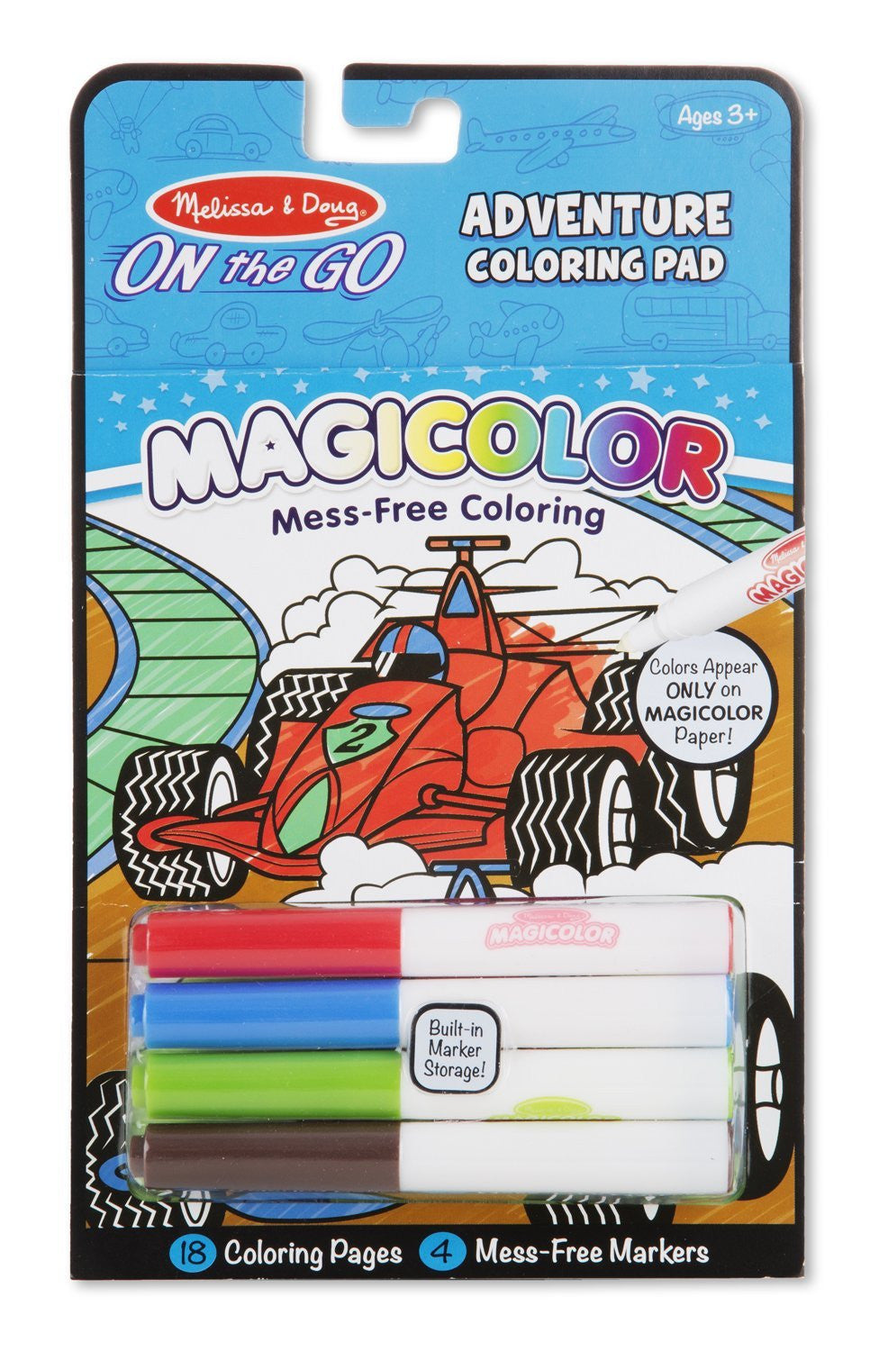 COLORING PAD - GAMES & ADVENTURE
