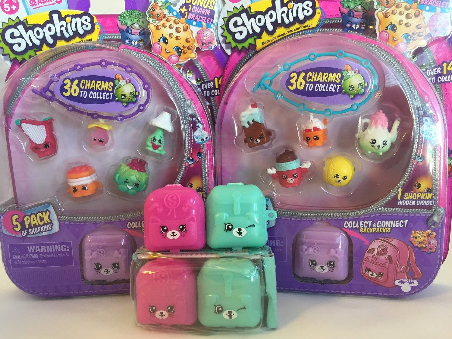 S5 5 Pack Shopkins