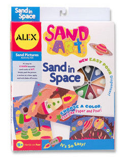 Sand Art - Sand in Space