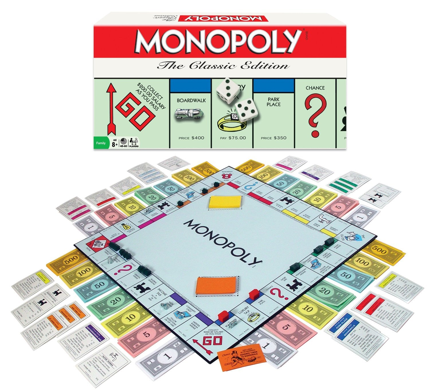 Monopoly Classic Edition - Winning Moves