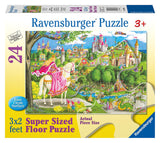 ONCE UPON A TIME 24 pc Floor Puzzle