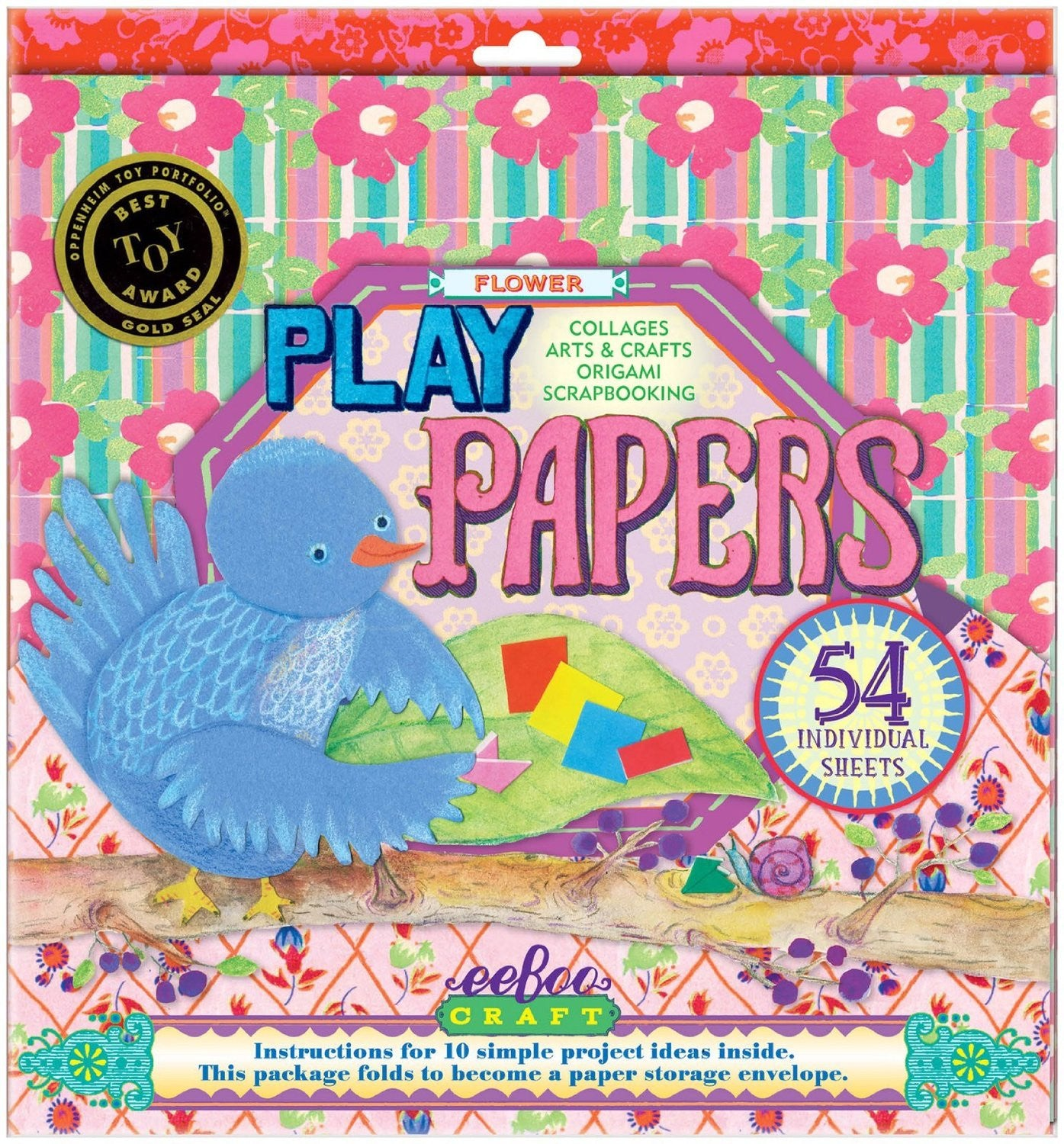 Flowers Play Papers