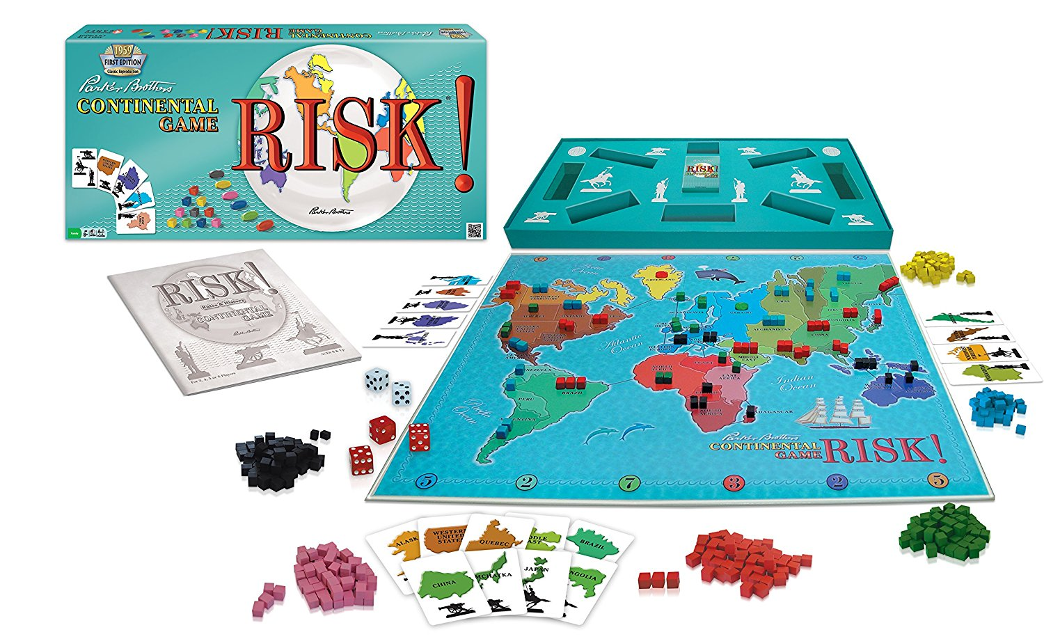 Risk 1959 - Winning Moves