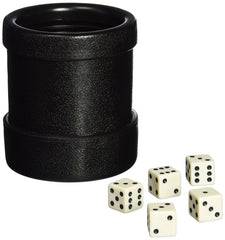 LUCKY DICE CUP BOXED W/5 DICE