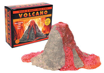 Build and Erupt your own Volcano