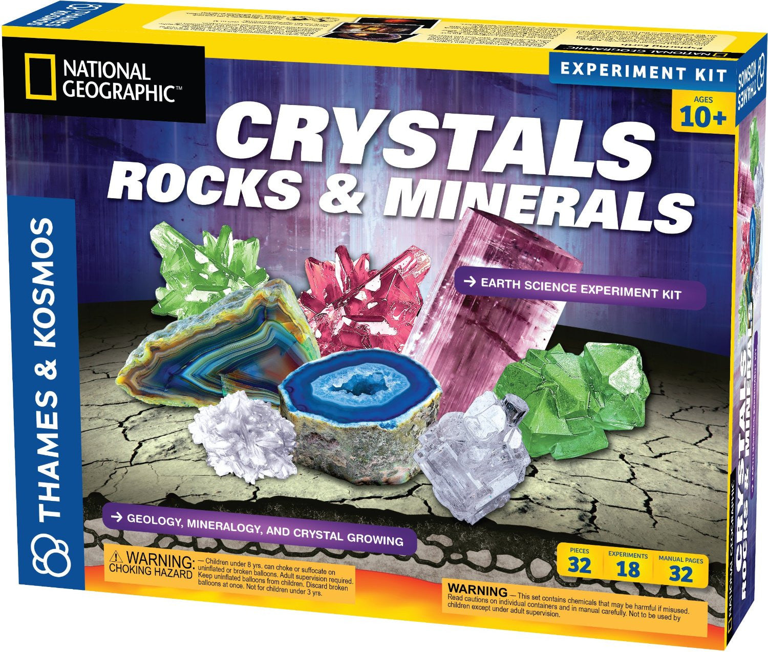 Crystals, Rocks & Minerals