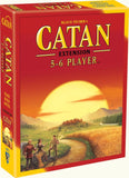 Settlers of Catan 5 & 6 Player Expansion