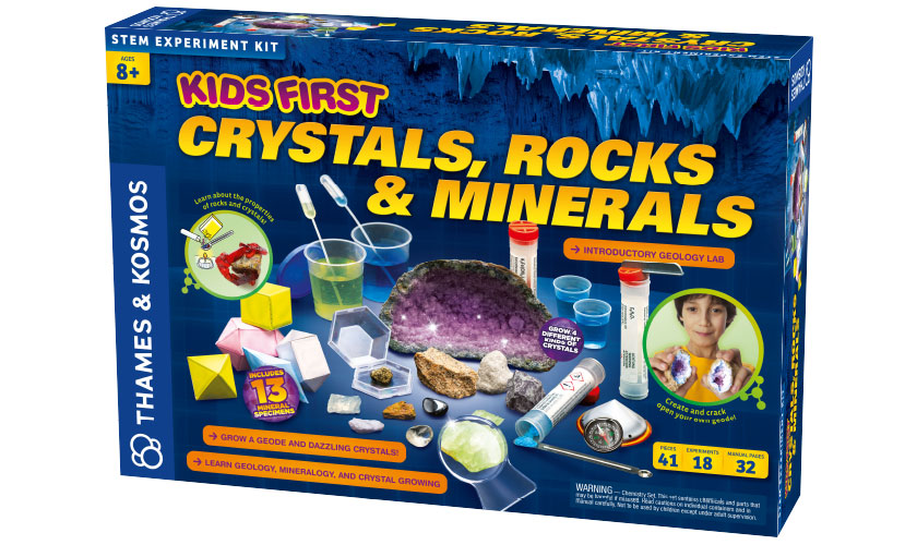 Crystals Rocks and Minerals Kit Kids First
