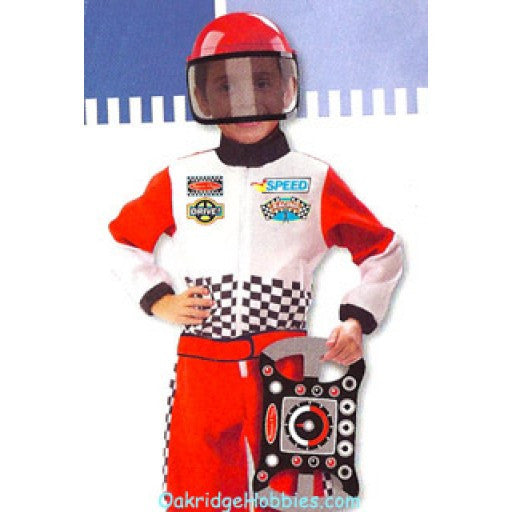Race Car Driver Role Play Costume