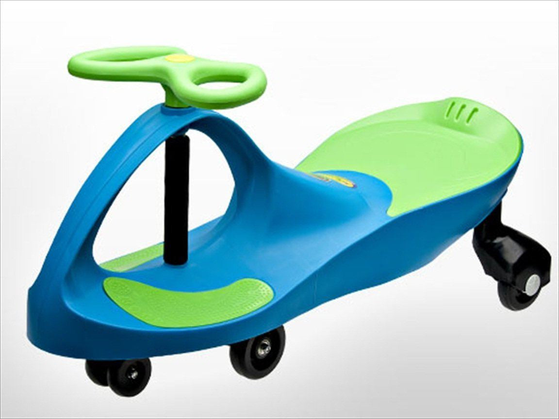 Plasma Car - Blue/Lime