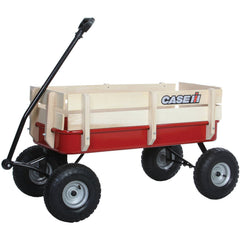 Case Stake Wagon Red