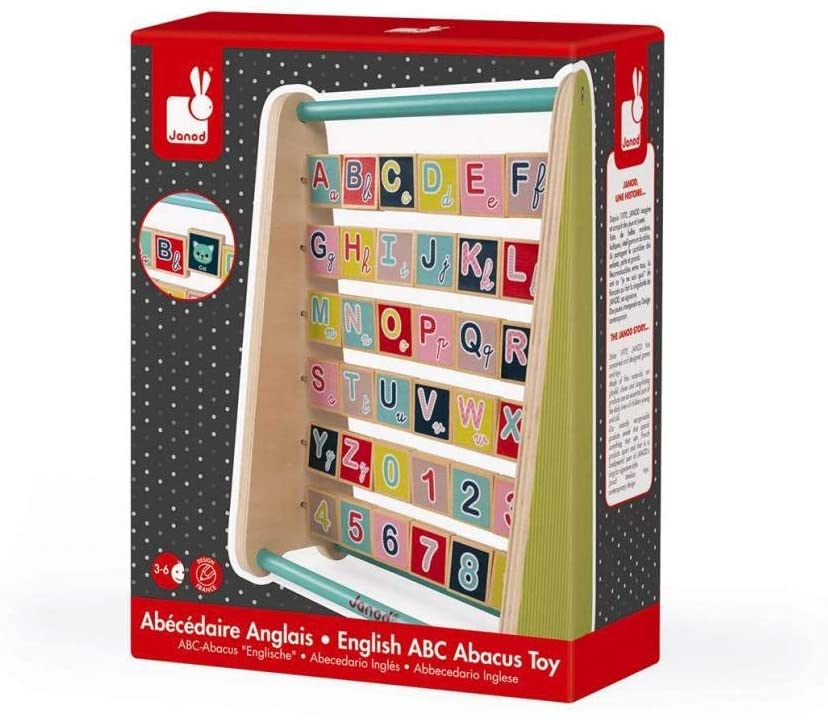 Baby Forest ABC Abacus Toy English