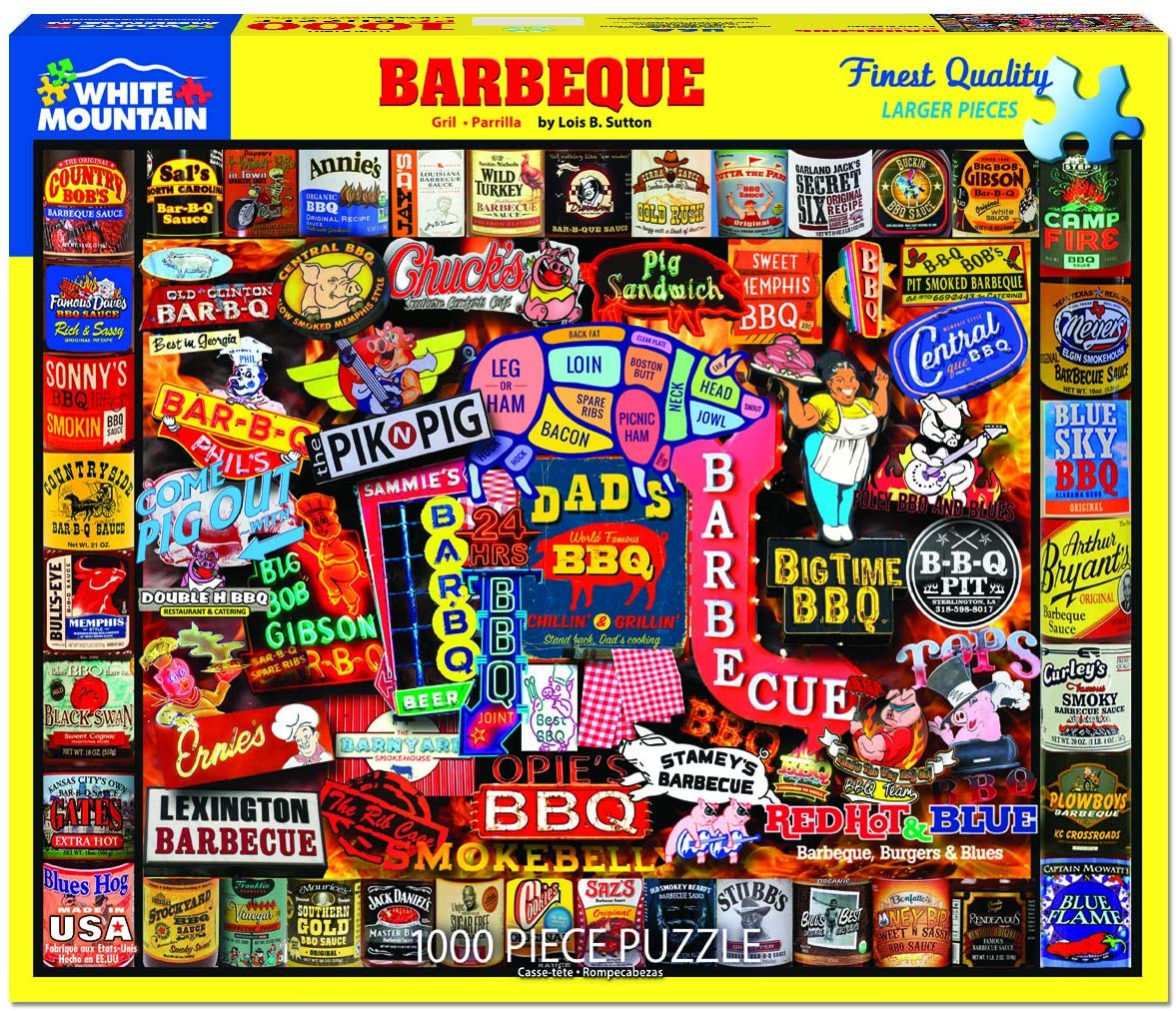 Barbeque- 1000 pc Puzzle