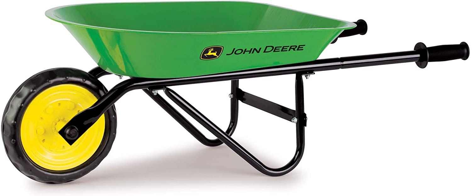 John Deer Steel Wheel Barrow