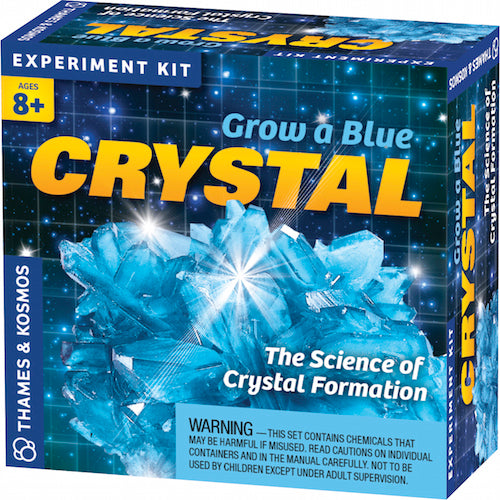 Blue- Crystal Growing Pop