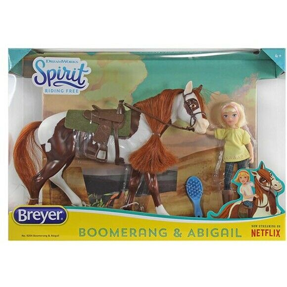 Breyer Boomerang and Abigal Classic