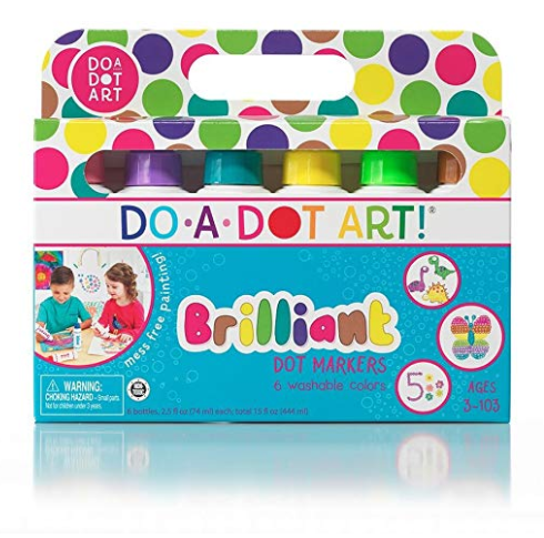 Do-a-Dot Art Brilliant Colors 6-pack