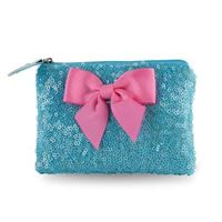 Blue Sparkle Coin Purse