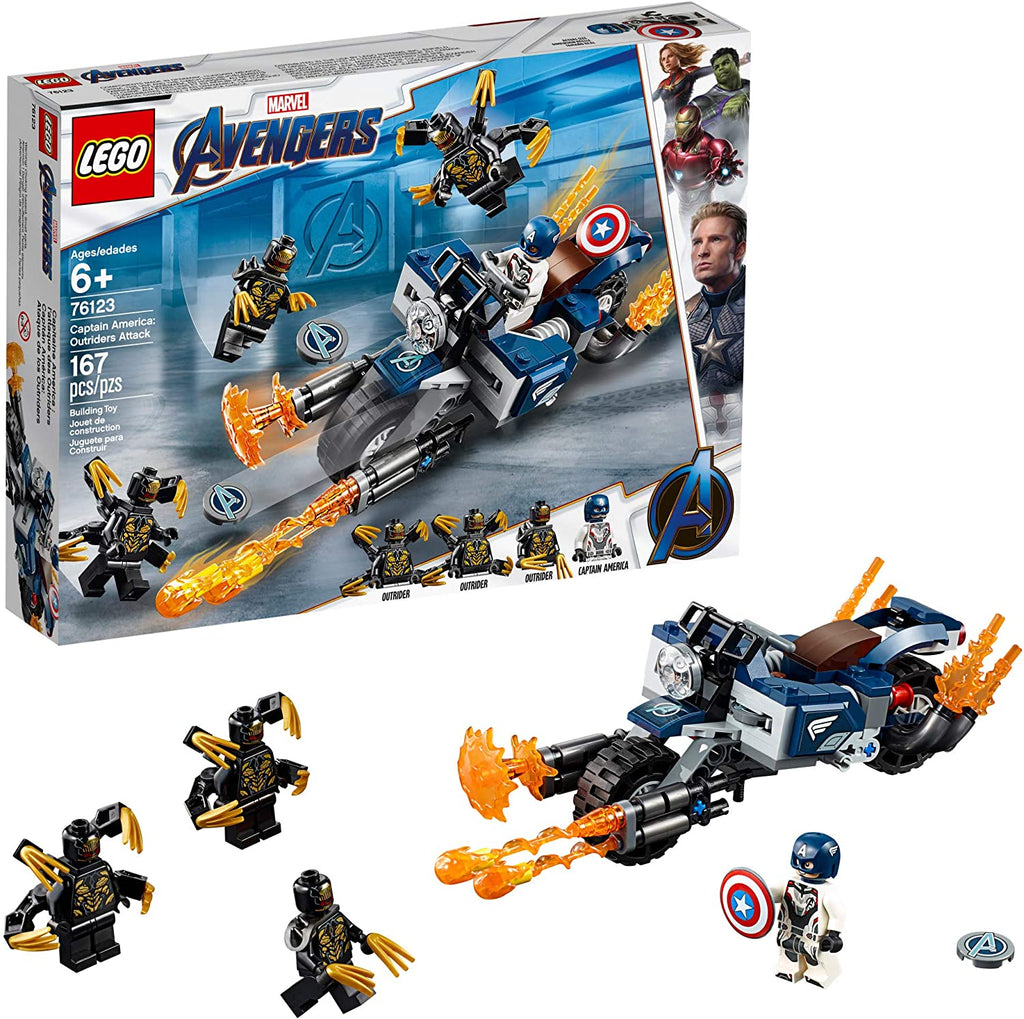 Captain America: Outriders Lego