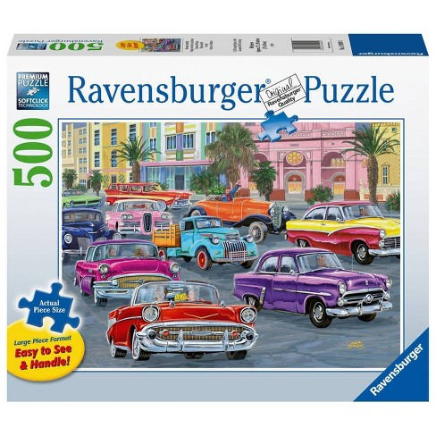 Cruisin' 500pc Large Format Puzzle